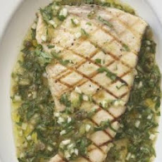 Swordfish with Salsa Verde