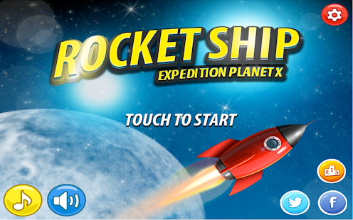 RocketShip Expedition Planet X - screenshot