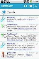 Screenshot of IM and Social