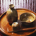 Japanese rice wine icon