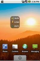 Screenshot of BatStat Battery Widget-Donate