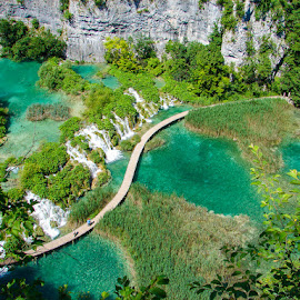 Green Water by Mihai Popa - Landscapes Travel ( plitvice, croatia,  )