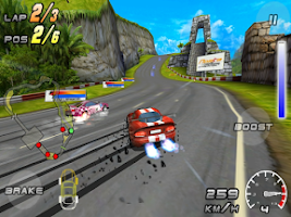 Screenshot of Raging Thunder 2 HD