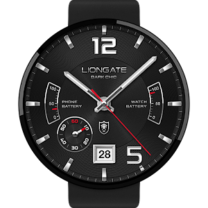 Dark Chic watchface by Liongat