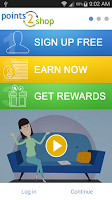 Screenshot of Points2Shop