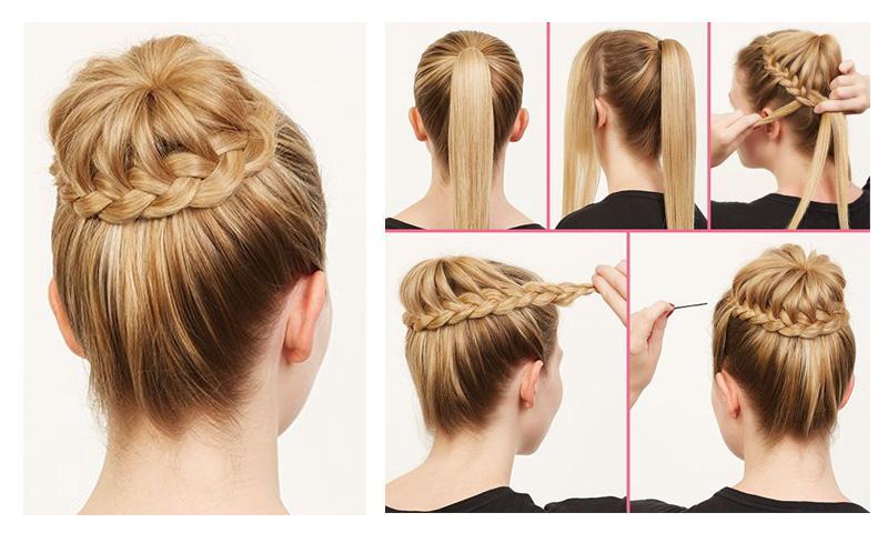 Как сделать причёску для девочки быстро и 53