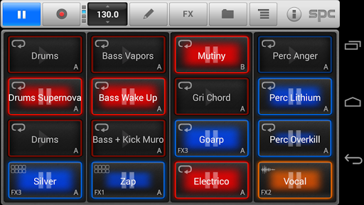 SPC Electro Scene Pack - screenshot
