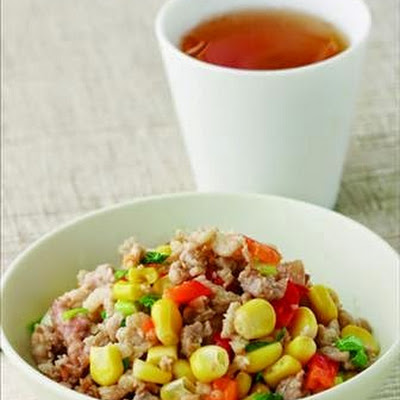 Corn Fried Minced Meat