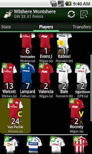 Differential FPL 2015/16 - screenshot