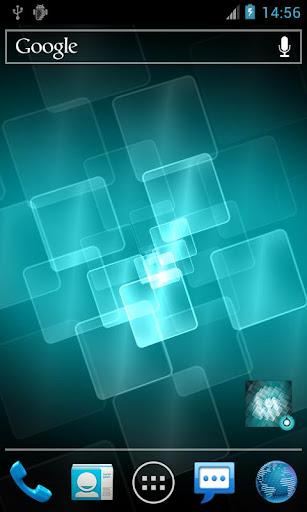 ホログリッドPro版ライブ壁紙 Holo Grid