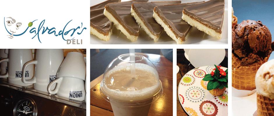 Union Hand-roasted Organic Coffee, Chocolate Ice Cream Milkshake, Caramel Shortcake, Luxury Dairy Ice Cream Waffle Cones