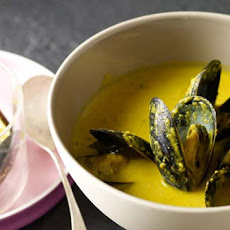 Saffron Mussel Stew Recipe