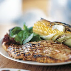 Orange-Chipotle Chicken with Corn