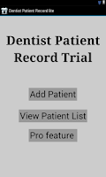 Screenshot of Dental Patient app lite