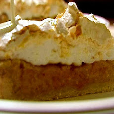 Pumpkin And Apple Meringue Pie