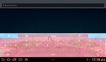 Screenshot of Paris Keyboard Theme