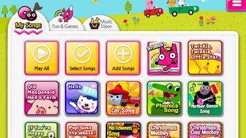 Screenshot of Best Kids Songs