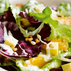 Cheddar And Orange Salad