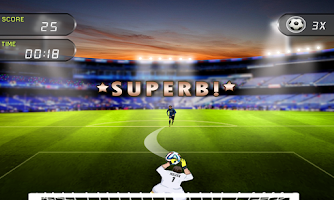 Screenshot of Super Football Goalkeeper-Star