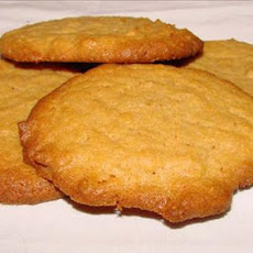 Peanut Butter Cookies[no Flour!]