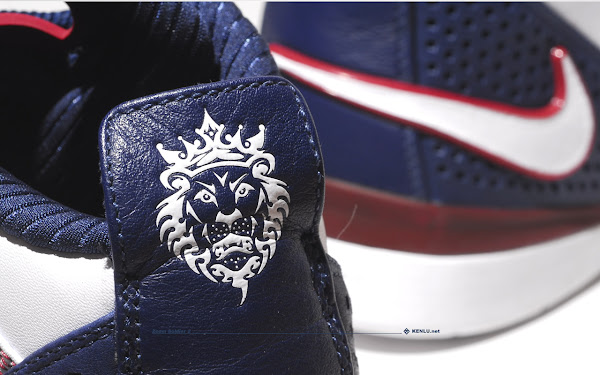 White and Navy LeBron Soldier II Sample vs General Release