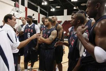 USA Basketball Team is Preparing for the Beijing 2008 Olympics
