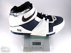 lebron2 white navy ounce Weightionary