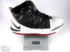 lebron3 black white red ounce Weightionary