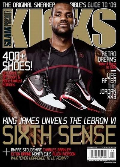Kicks Magazine Zoom LeBron VI Designed by Ken Link Article Report