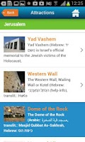 Screenshot of Jerusalem Hotels, Map & Guide