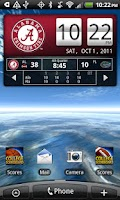 Screenshot of Alabama Live Clock
