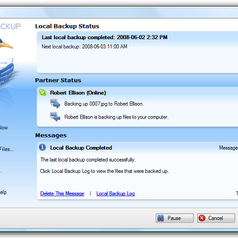 Cucku - Backup your data onto your friend's PC