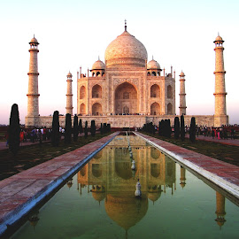 The Glorious Taj by Mrinmoy Ghosh - Buildings & Architecture Public & Historical (  )
