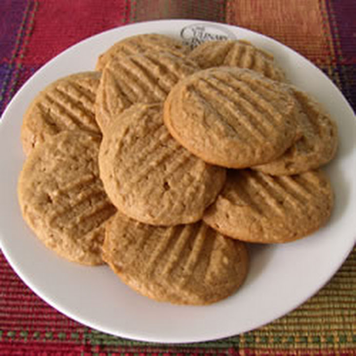 Easy Whole Wheat Peanut Butter Cookies Recipe | Yummly