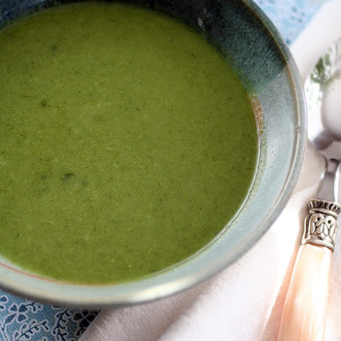 Green Goddess Soup With Zucchini, Chard, And Cilantro Recipe ...