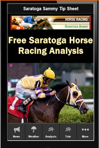 Saratoga Horse Racing Tips