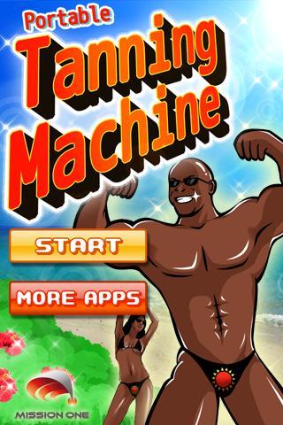 Portable Tanning Machine