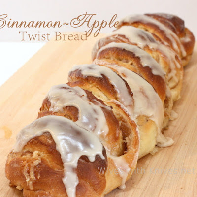 Cinnamon-Apple Twist Bread