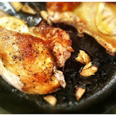 Cast Iron Honey Chicken