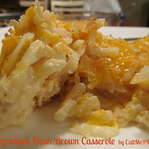 3 Ingredient Hash Brown Casserole / Call Me PMc