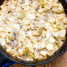 Hatch chile potato casserole
