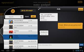 Screenshot of BHN Easy Gadget