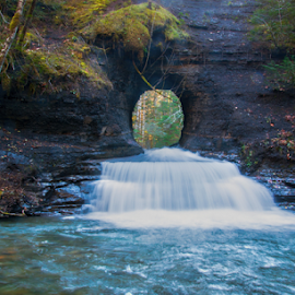 Hole in the Wall by Keith Sutherland - Landscapes Waterscapes ( water, stream, flowing, river )