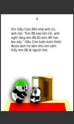 Brave Little Panda--Vietnamese