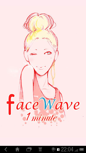 faceWave 1minute