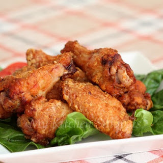 Crispy Oven Baked Chicken Wings
