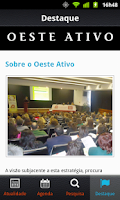 Screenshot of Oeste Ativo