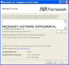 .NET Framework Install