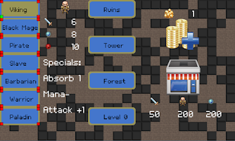 Screenshot of Mobile Dungeons Roguelike RPG