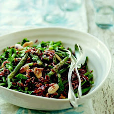 Green Bean, Red Rice, and Almond Salad from 'The French Market Cookbook'